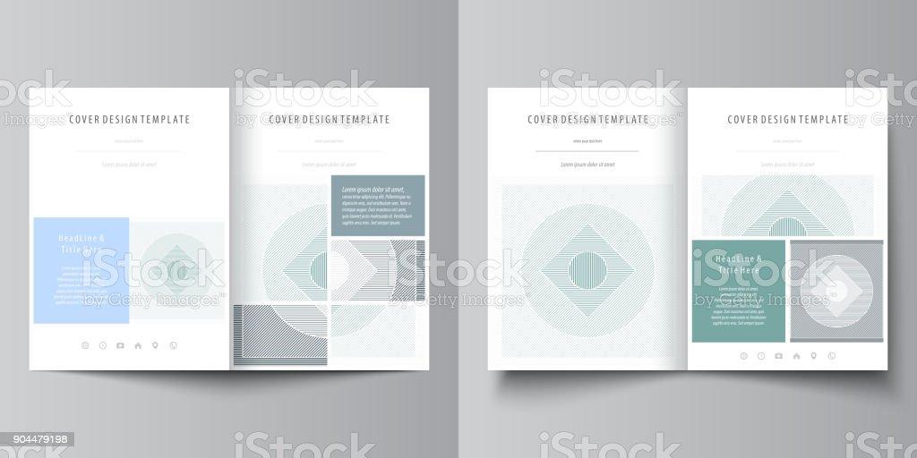 Businessvorlagen Für Bi Falten Broschüre Flyer Broschüre Magazin ...
