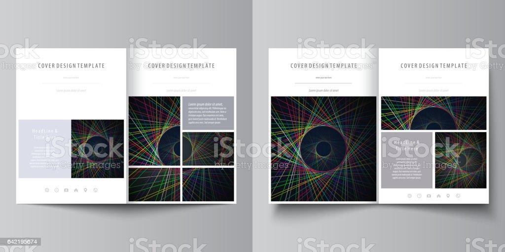business templates for bi fold brochure magazine flyer booklet or