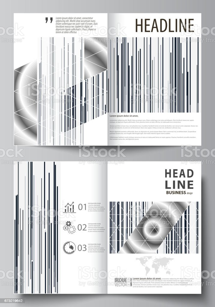 business templates for bi fold brochure magazine flyer cover design