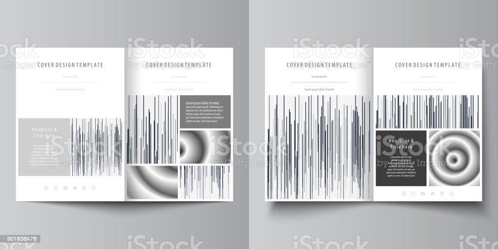 Businessvorlagen Für Bi Falten Zeitschrift Broschüre Flyer ...