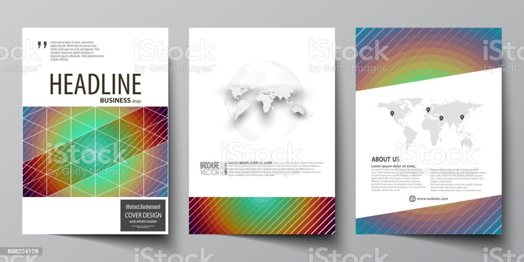 business templates for brochure flyer booklet cover template