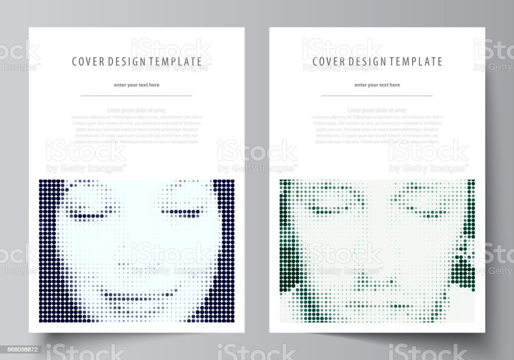Business Templates For Brochure Magazine Flyer Booklet Cover Design Template Abstract