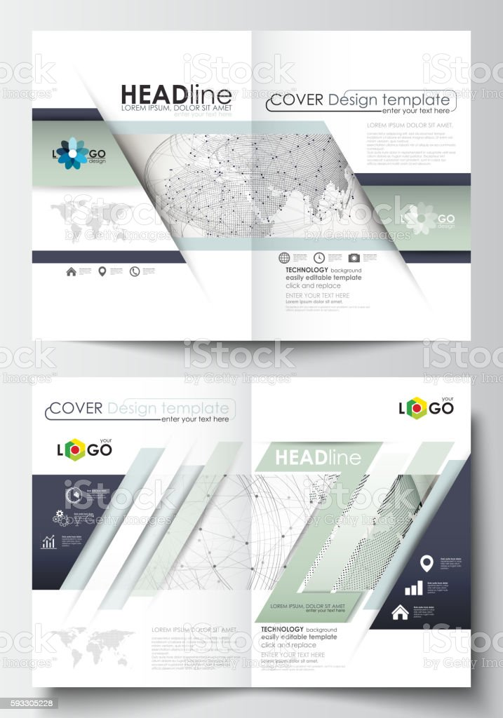 Business Templates For Brochure Magazine Flyer Booklet Or Report