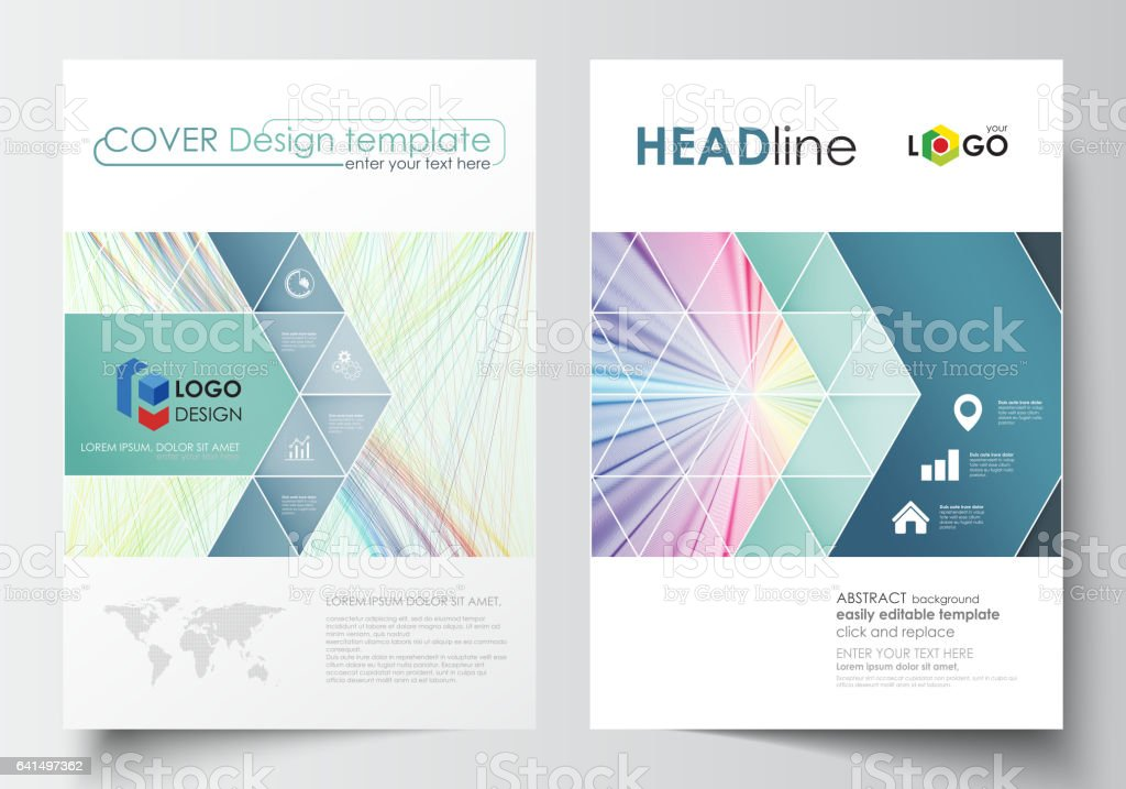 Business Templates For Brochure Magazine Flyer Report Cover Template ...