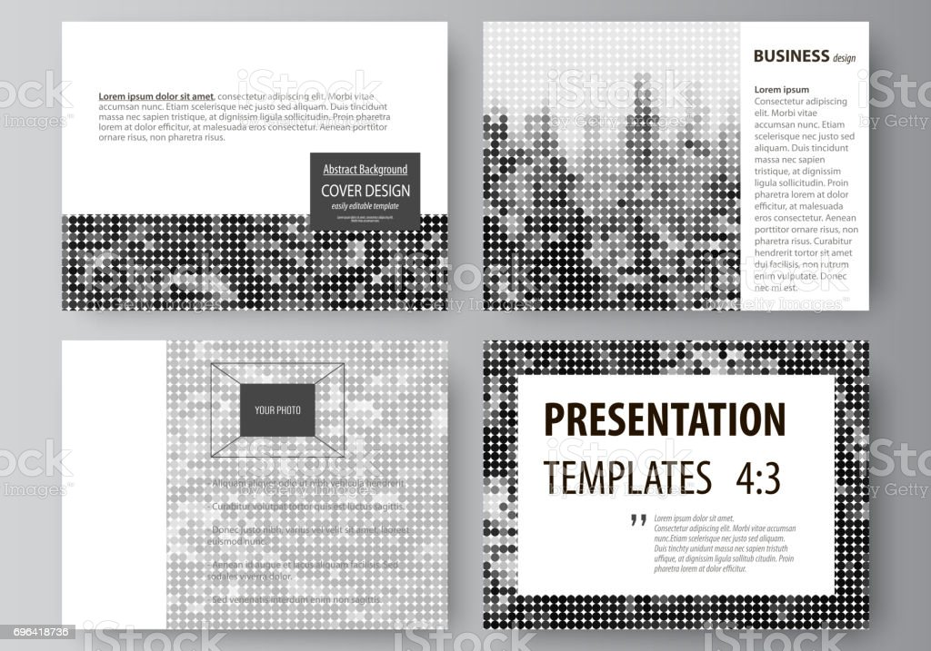 Business Templates For Presentation Slides Easy Editable Vector ...