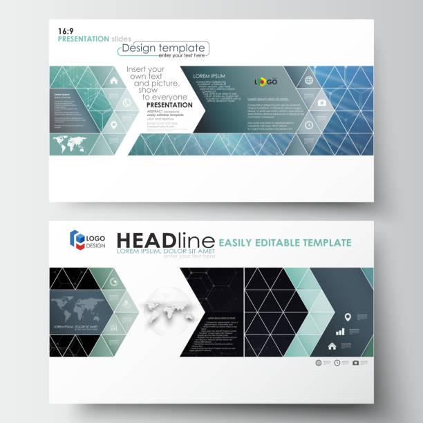business-vorlagen im hd-format für präsentationsfolien. leicht editierbar - bildformate stock-grafiken, -clipart, -cartoons und -symbole