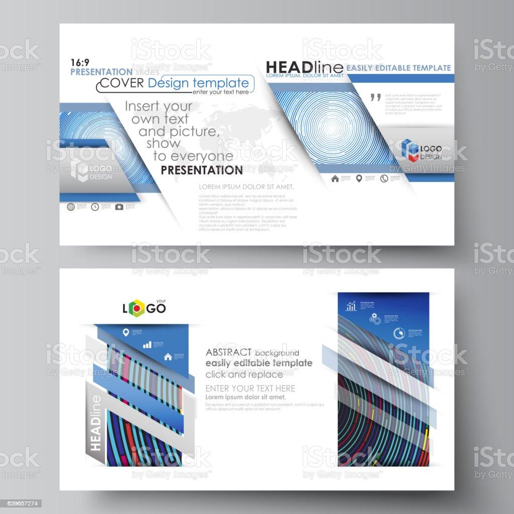 ビジネステンプレートの hd フォーマットプレゼンテーション用のスライド