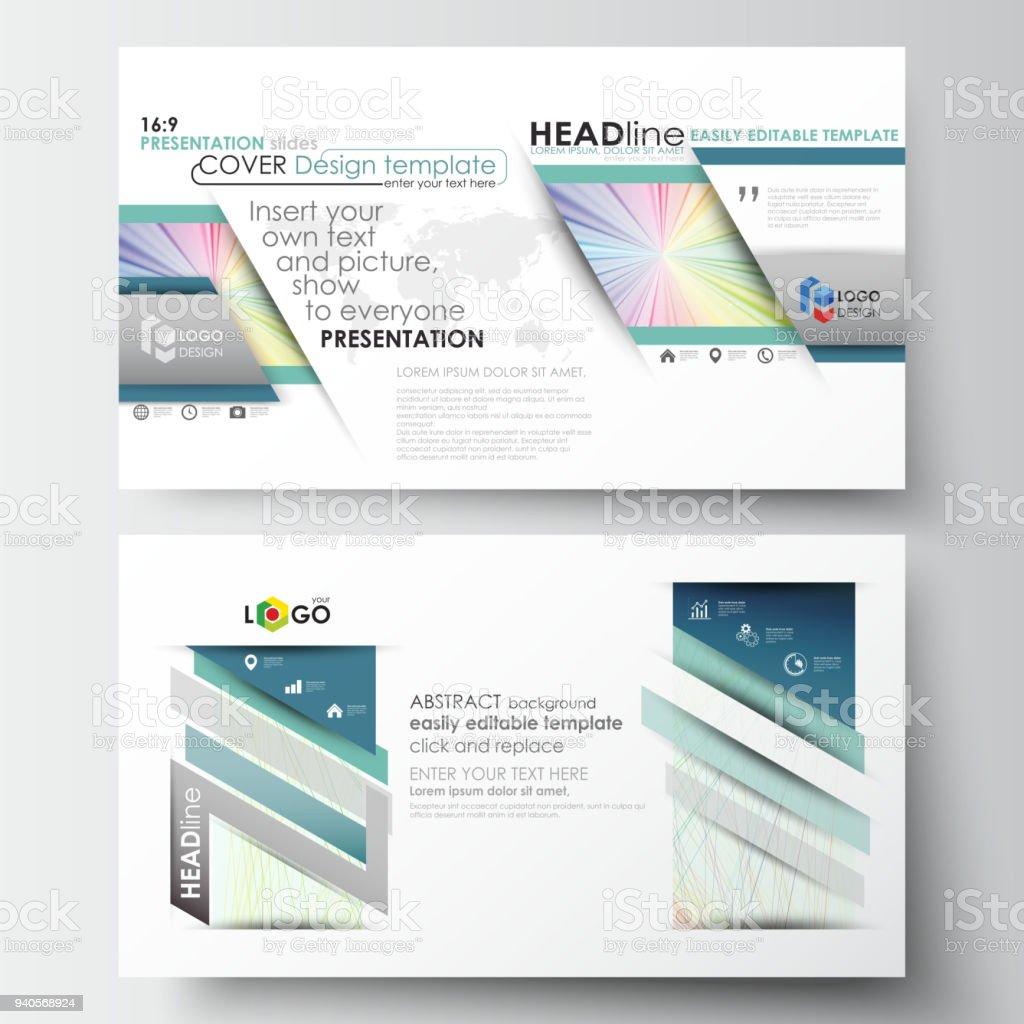 Ilustración de Plantillas Negocios En Hd Formato Para Diapositivas ...