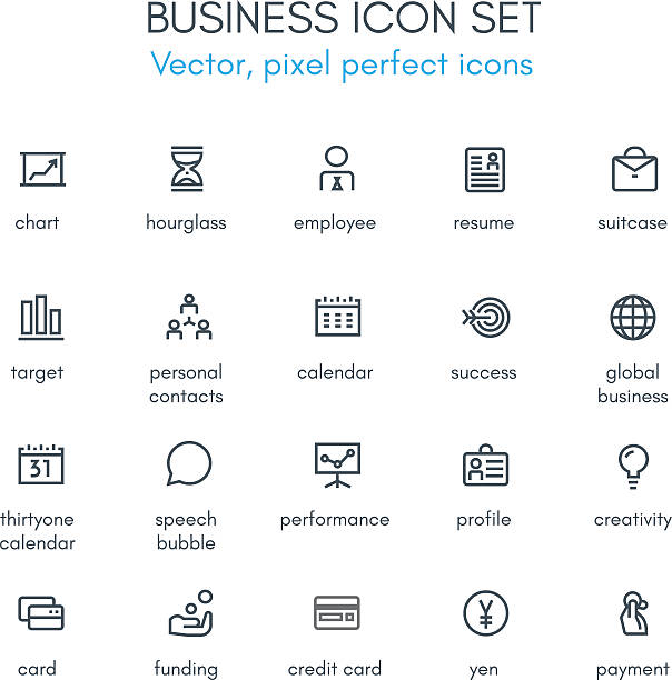 Top 60 Resume Icons Clip Art Vector Graphics And Illustrations