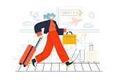 istock Business topics - business trip 1267297176