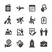 Business Travel Icons - Acme Series