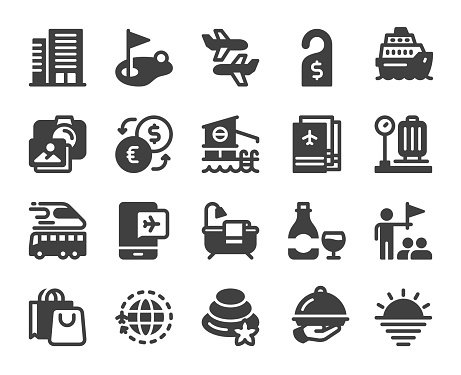 Business Travel - Icons