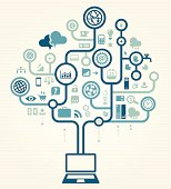 Business Using Laptop Online Concept