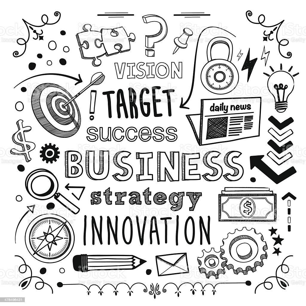 Business - Lizenzfrei Ausrüstung und Geräte Vektorgrafik