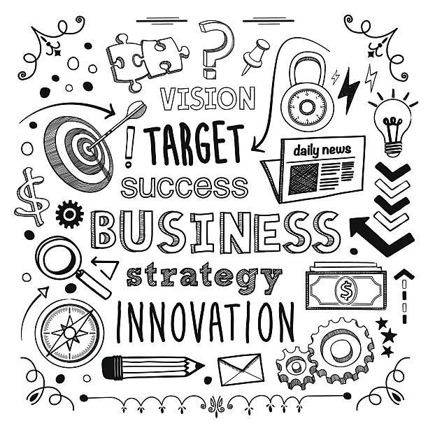 ilustrações de stock, clip art, desenhos animados e ícones de negócios de - writing ideas