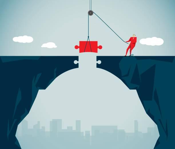 Businessvectorkunst illustratie