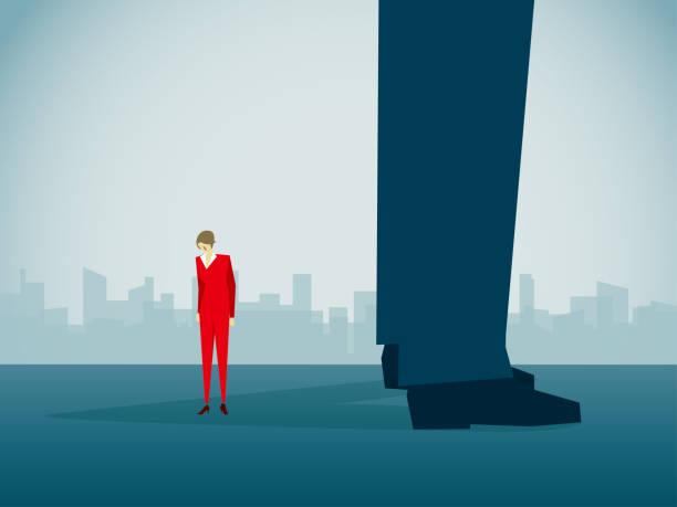 illustrazioni stock, clip art, cartoni animati e icone di tendenza di business - violenza donne
