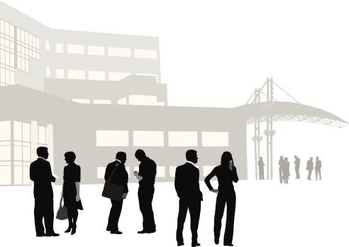 Business Vector Silhouette