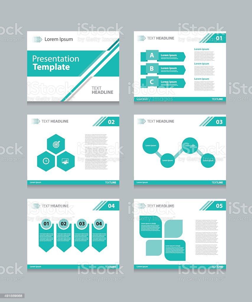 Vektor Vorlage Business Präsentation Slipper Hintergrunddesign Stock ...