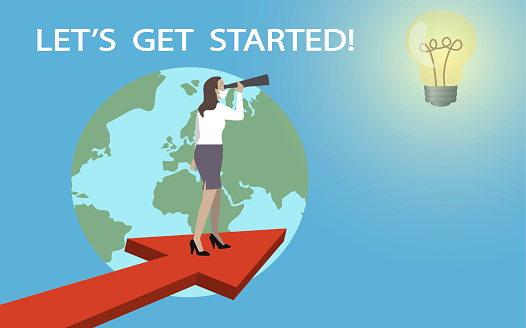 Business vision and target. Let´s get started!