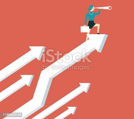 istock Business Vision - Businesswoman 1130928145