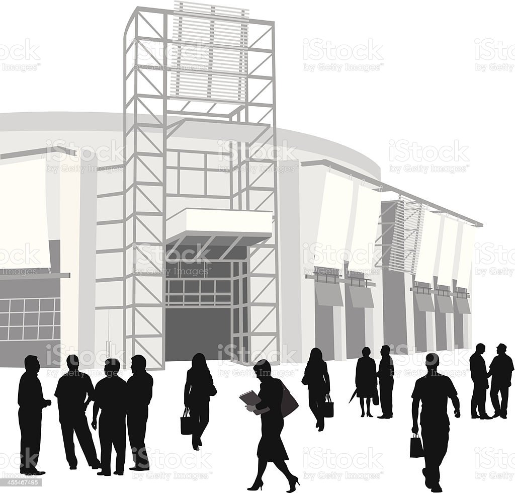 Business Walk Vector Silhouette royalty-free business walk vector silhouette stock vector art & more images of adult
