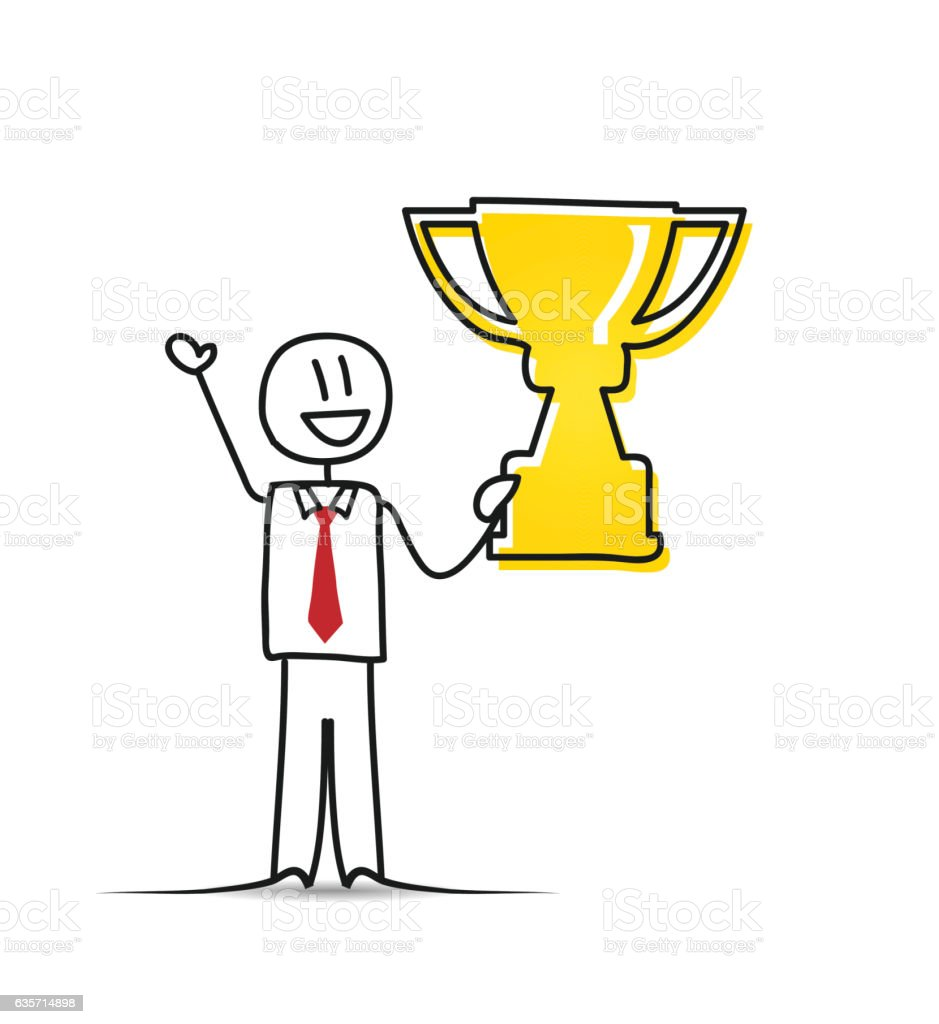 Business Winning royalty-free business winning stock vector art & more images of achievement