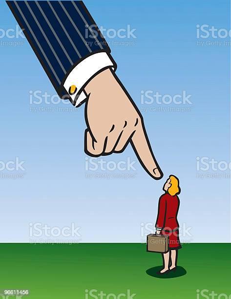 Business Woman Hand-vektorgrafik och fler bilder på Affärskvinna