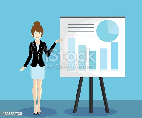 istock business woman leader in a meeting with her multifunction colleagues at the office presenting sales data or forecast for a project 1308322706