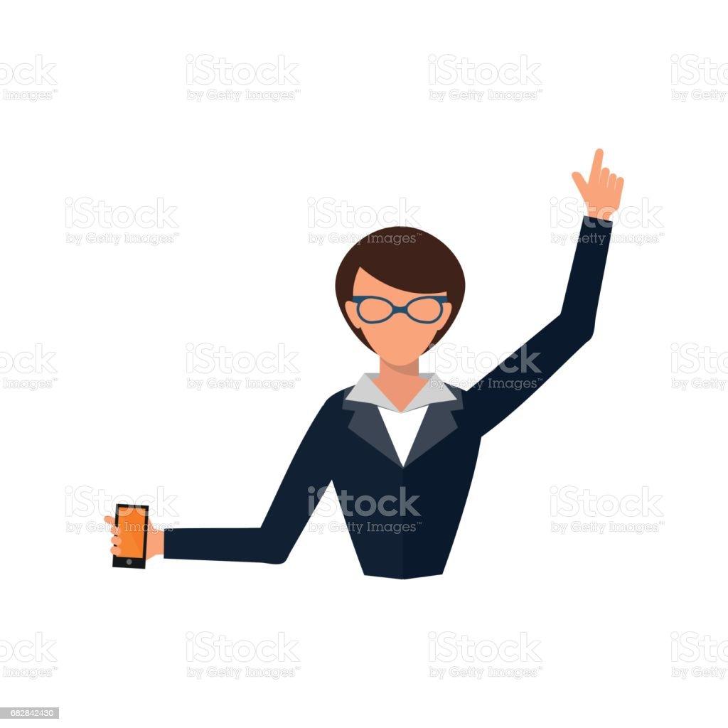 Business woman office job stress work vector illustration person manager character Lizenzfreies business woman office job stress work vector illustration person manager character stock vektor art und mehr bilder von anzug