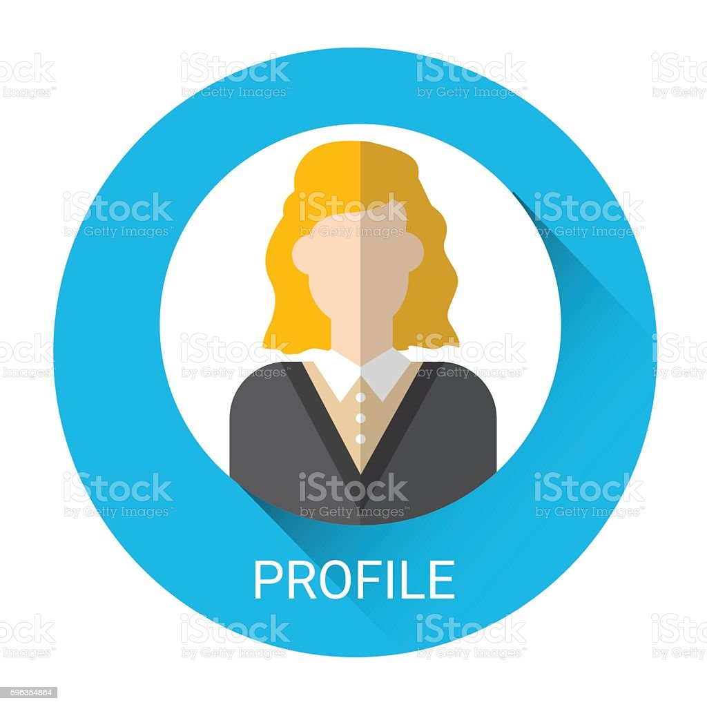 Business Woman Profile Icon royalty-free business woman profile icon stock vector art & more images of adult