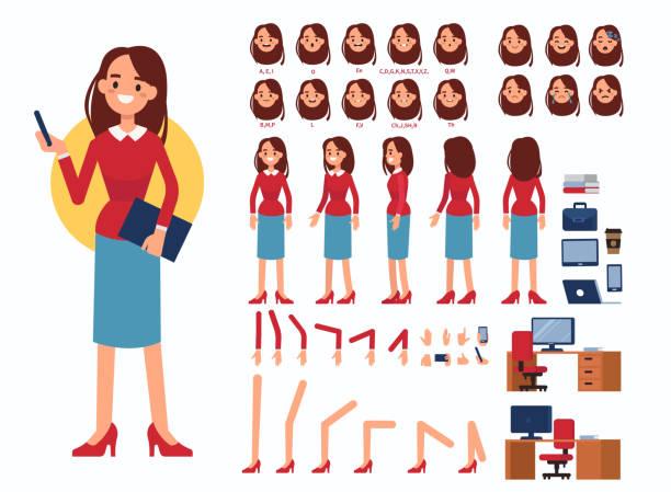 ilustraciones, imágenes clip art, dibujos animados e iconos de stock de mujer de negocios - ejecutiva