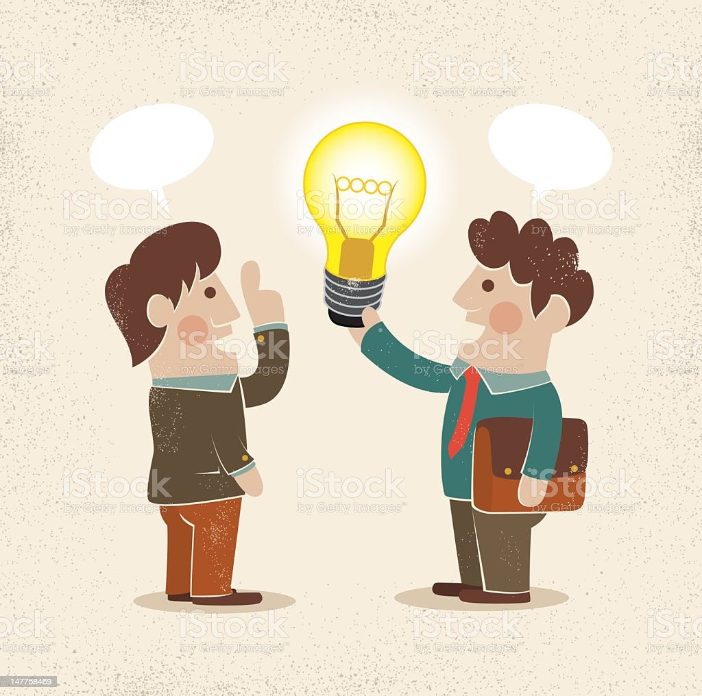 businessman & idea royalty-free businessman amp idea stock vector art & more images of adult
