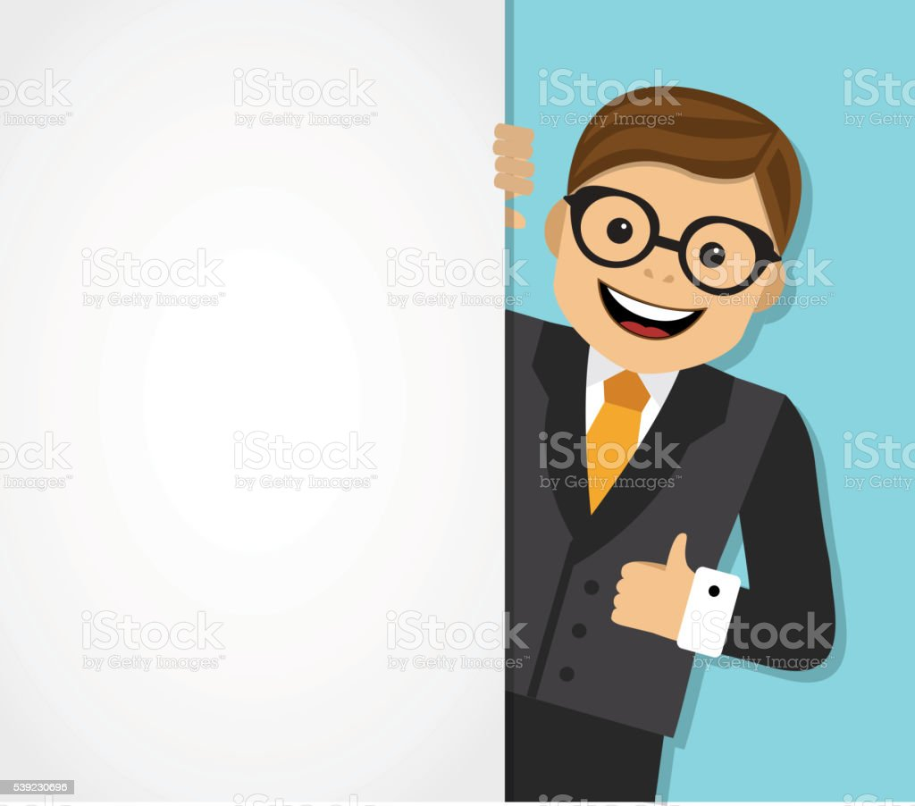 businessman and background with space for text royalty-free businessman and background with space for text stock vector art & more images of adult