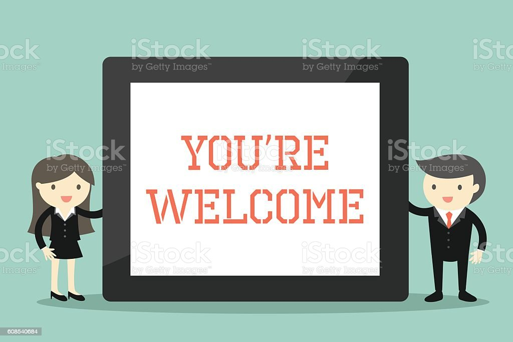 royalty free youre welcome clip art vector images illustrations rh istockphoto com your welcome clip art images you're welcome clipart
