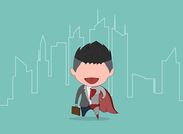 illustrations, cliparts, dessins animés et icônes de homme d'affaires et superbusiness mignon avec pour toile de fond la ville - cage animal nuit