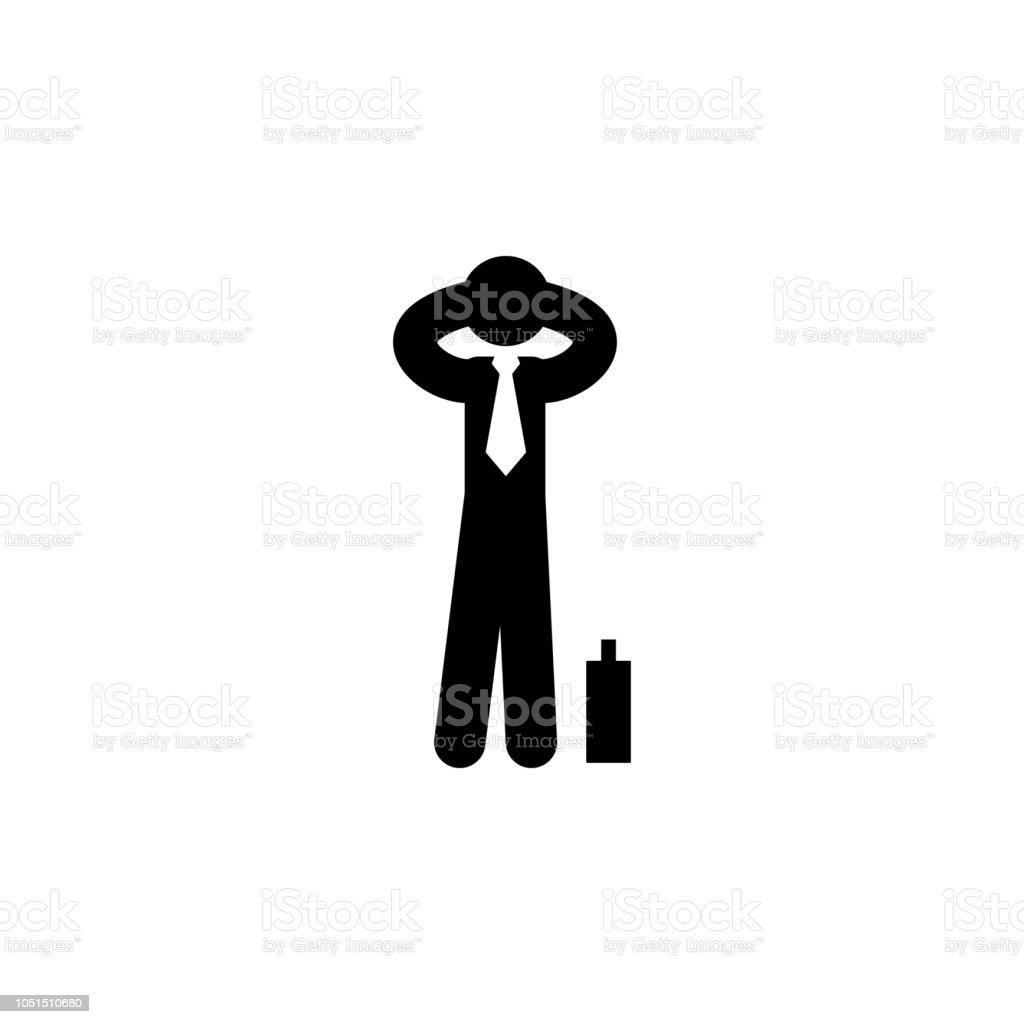Businessman Boring Easy Icon Element Of Businessman Icon For Mobile