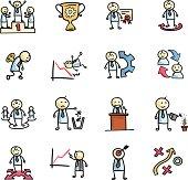 Vector File of Businessman Concept Icon