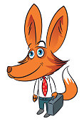 Businessman Fox
