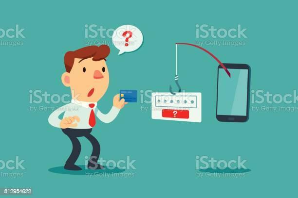 Businessman get confused by fishing rod from smart phone vector id812954622?b=1&k=6&m=812954622&s=612x612&h=jso1zksejyvlbfvp tuttx20 a14b txvskjkrqqtvi=