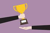 Achievement, Adult, Award, Breaking New Ground, Winning, Office, Worker