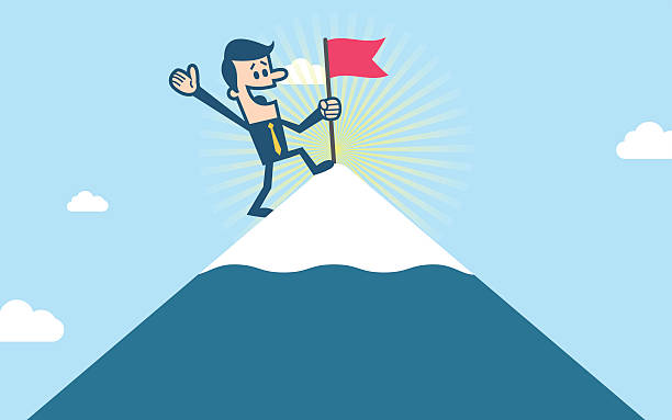 Top Top Of The Mountain Clip Art, Vector Graphics and ...