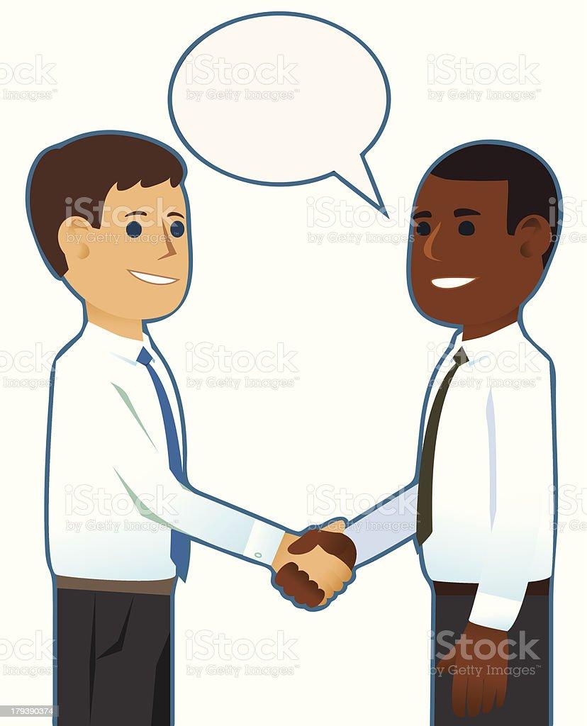 Businessman Handshake royalty-free businessman handshake stock vector art & more images of adult
