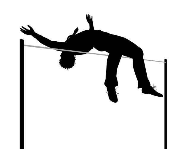 Best High Jump Illustrations, Royalty-Free Vector Graphics