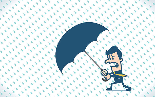 Businessman Holding An Umbrella In The Rainstorm Vector Id K Amp M Amp S X Amp W Amp H Xbuzqsqsmwlzhqk Ns Tlwkmkhnpvkl Gp Pnmdhse