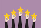 Customer, Star Shape, Expertise, Success, Achievement, Advice, Award, Competition