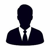 istock Businessman icon 1083280462