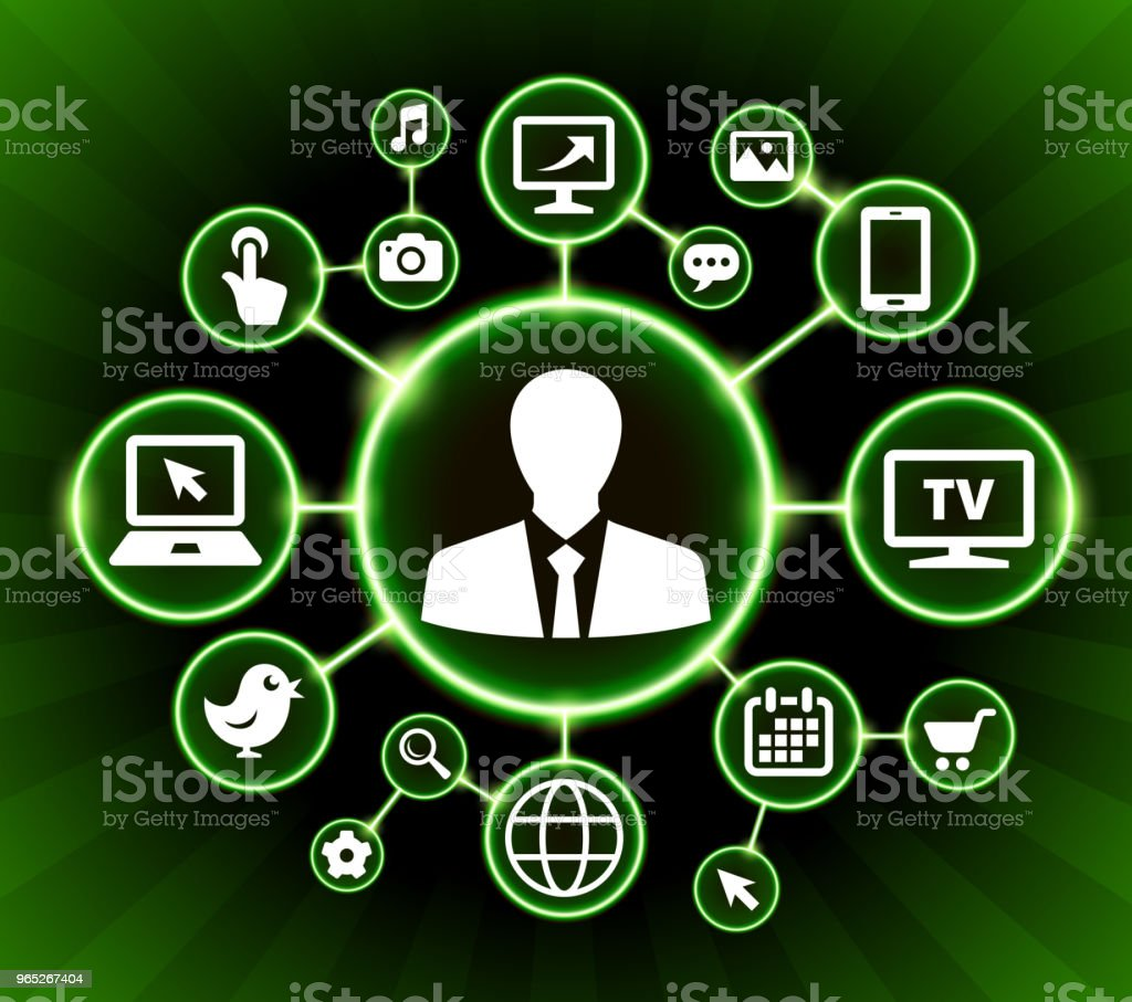 Businessman Internet Communication Technology Dark Buttons Background royalty-free businessman internet communication technology dark buttons background stock vector art & more images of adult