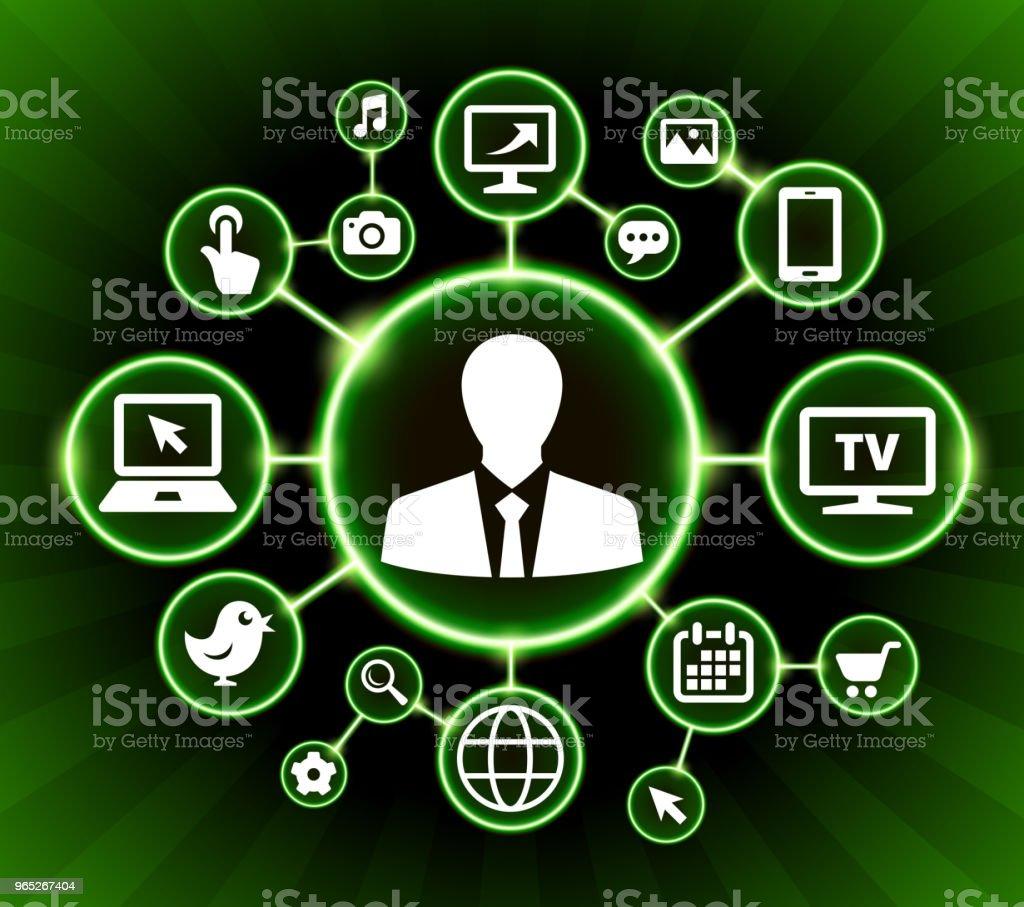Businessman Internet Communication Technology Dark Buttons Background businessman internet communication technology dark buttons background - stockowe grafiki wektorowe i więcej obrazów biznes royalty-free