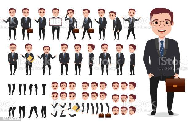 Businessman office male vector character creation kit set of vector id695130338?b=1&k=6&m=695130338&s=612x612&h=wz9qzyxxx7ymhutce9vkml pyjr0ztdlx0cbmc78g2c=
